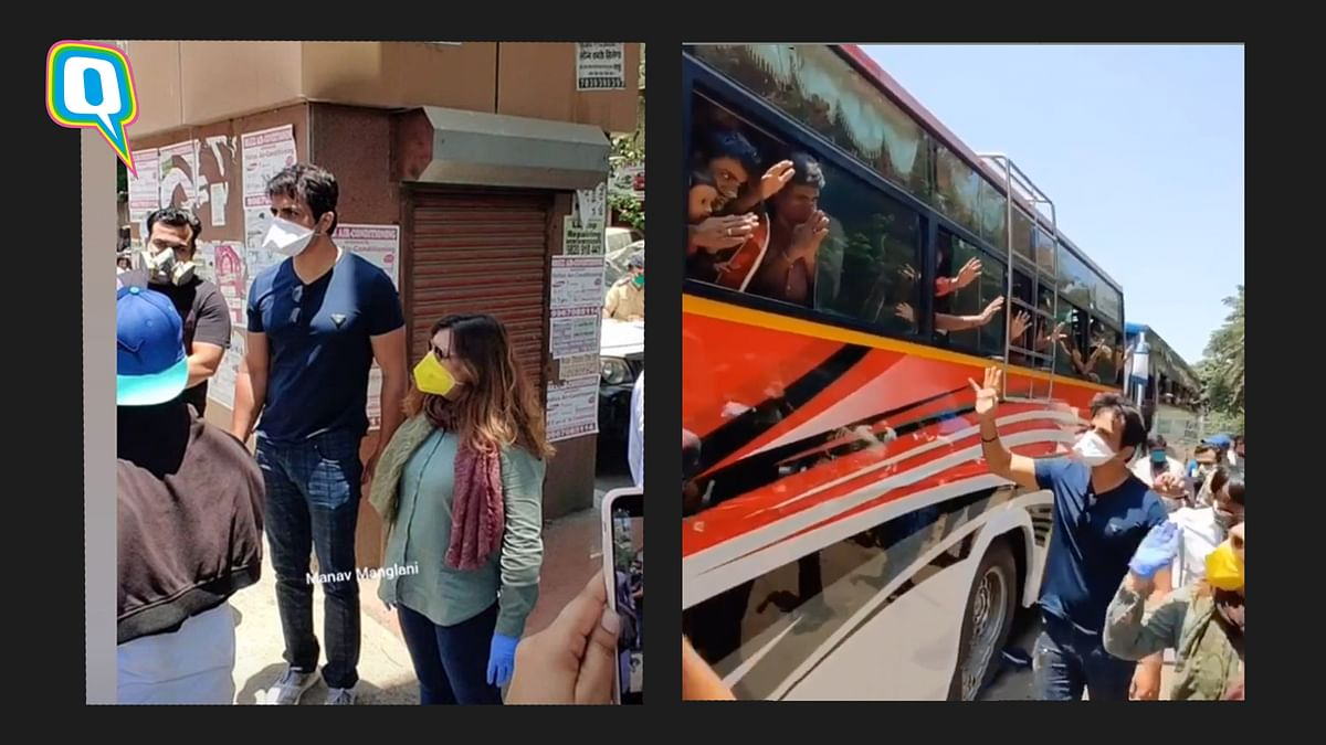 Lockdown: Sonu Sood Arranges For More Buses To Take Migrants Home