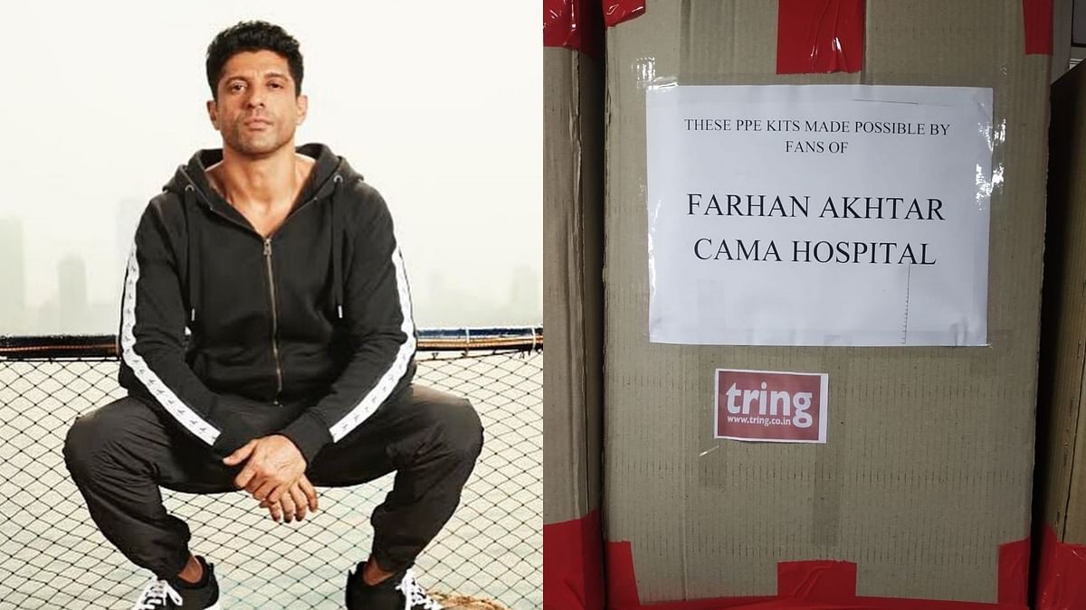 Will Help Keep Medics Safe: Farhan Donates PPEs to Mumbai Hospital