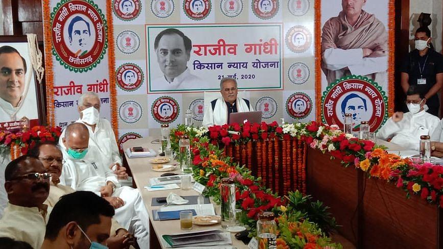 Ch'garh Launches Nyay Scheme on Rajiv Gandhi's Death Anniversary