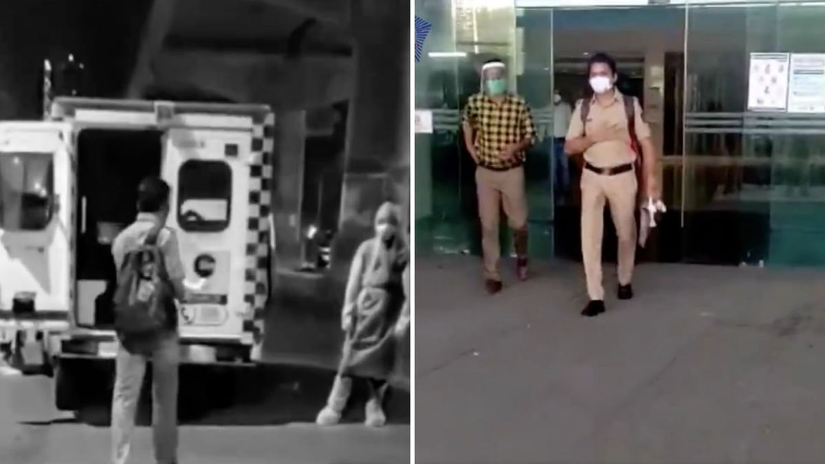 Watch: Mumbai Cop Returns to Work After Recovering From COVID-19