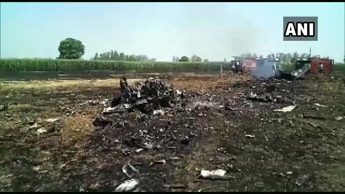 IAF MiG-29 Aircraft Crashes in Punjab, Pilot Ejects Safely