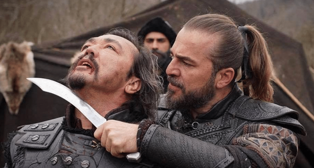 Scenes from the show Ertugrul.