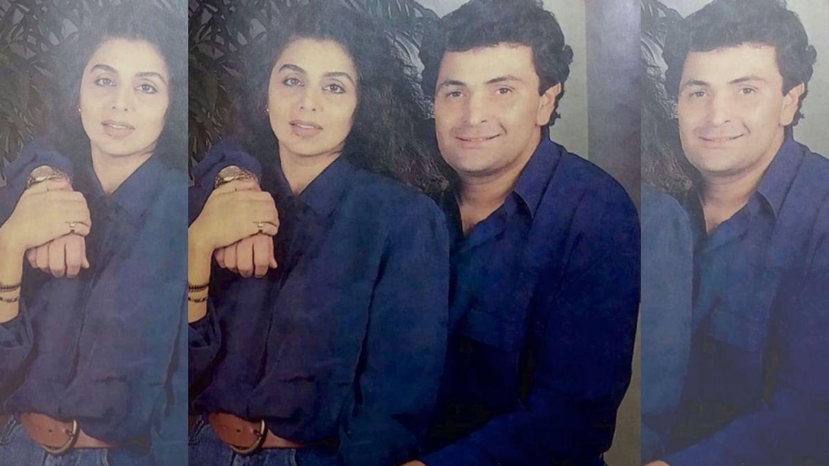 Neetu Singh and Rishi Kapoor.