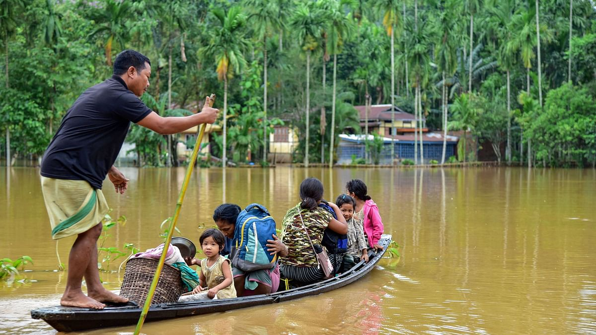 Assam Floods: PM Assured Full Support on Call, Says CM Sonowal