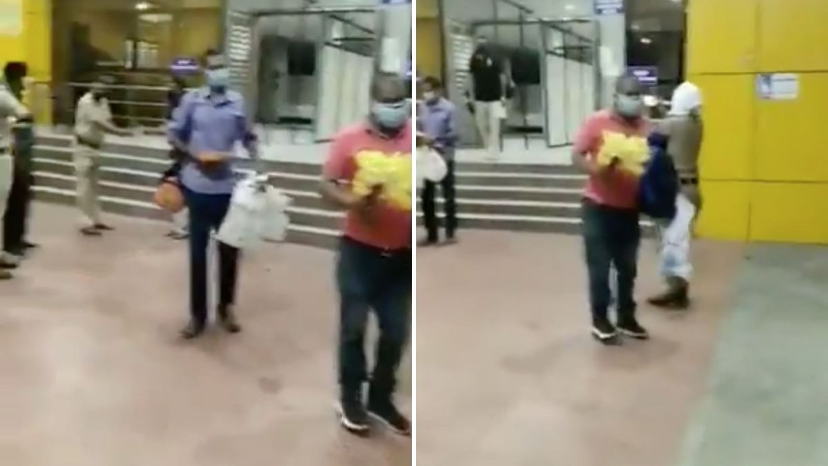 Watch: Nagpur Cops Recover From COVID, Receive Warm Welcome