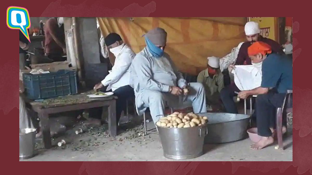 Amid COVID Kolkata's Behala Gurudwara  Provides Meals to Thousands