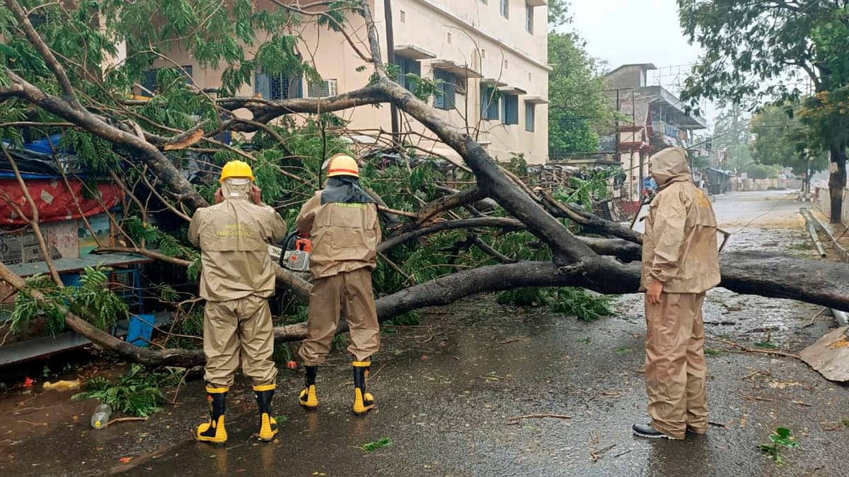 Cyclone Amphan Causes Disruption, Damages Houses in West Bengal
