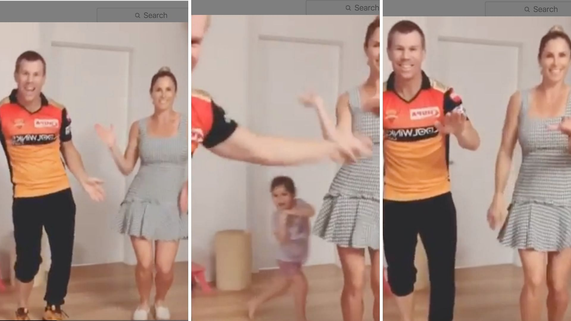 Warner Wife Candice Daughter Dance To Telugu Song Butta Bomma
