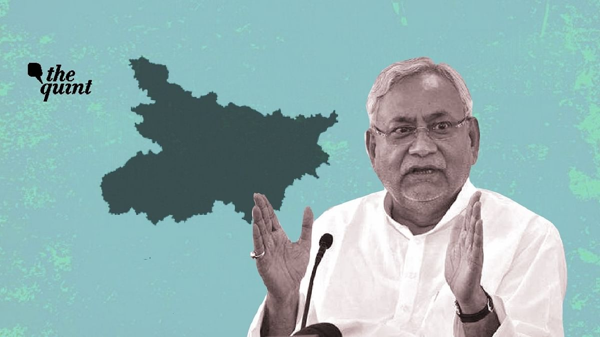 Image of Bihar map and Bihar CM Nitish Kumar used for representational purposes.