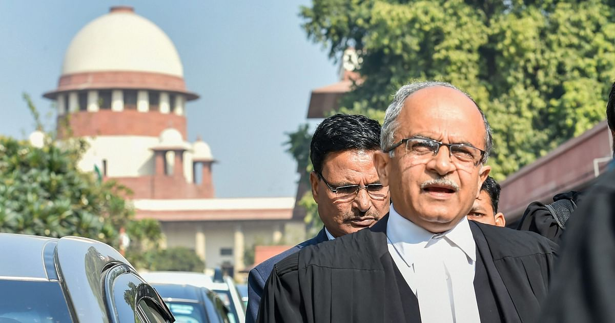 SC to Hear 2009 Contempt Case Against Prashant Bhushan From 17 Aug