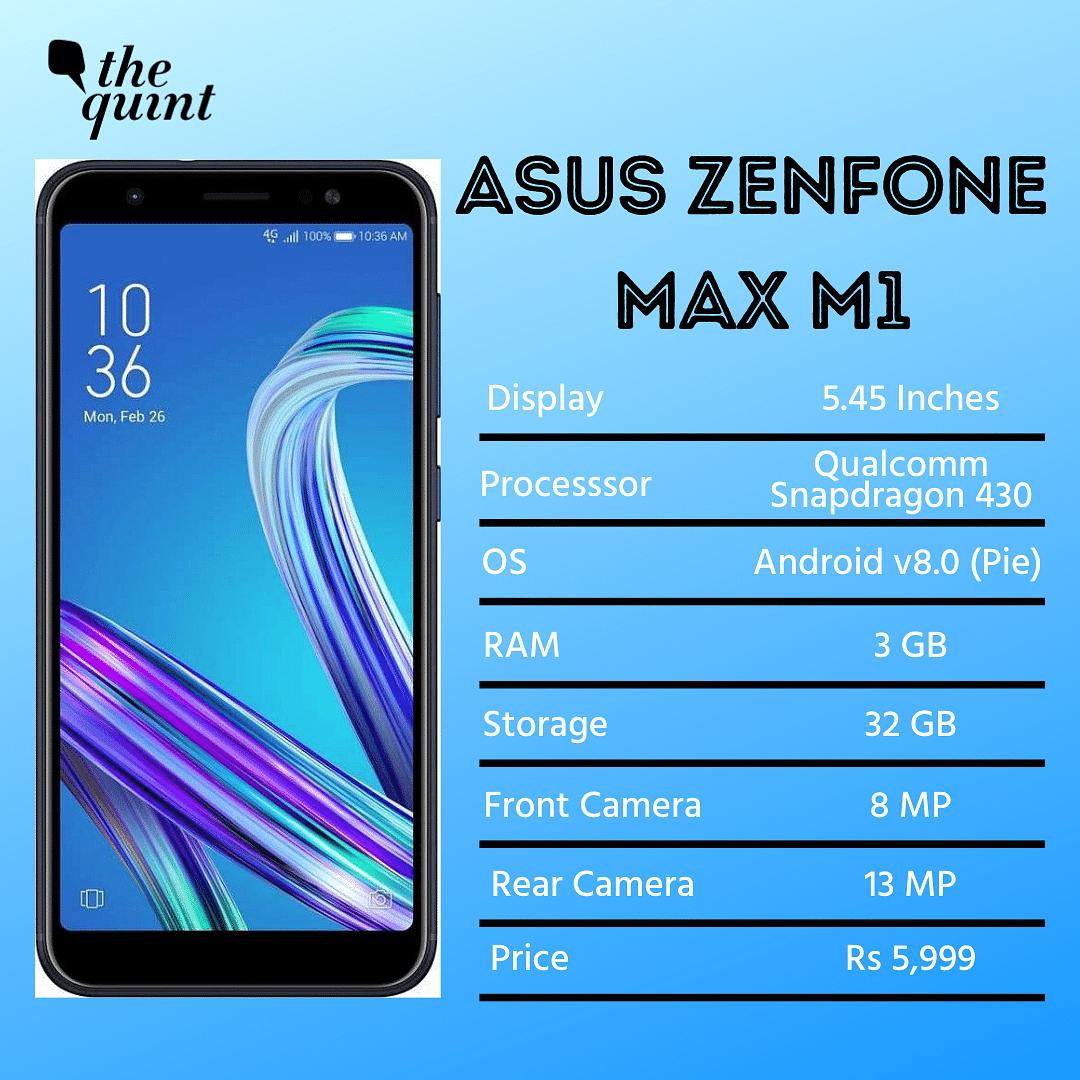 Asus Zenphone Max M1