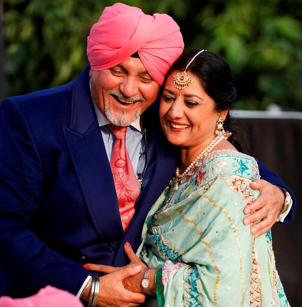 """My wife (actor Nandita Puri)  was my rock of Gibraltar,"" said Capt Dan Dhanoa."