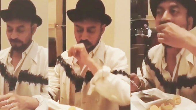 This Video Of Irrfan Khan Relishing Pani Puri Will Make You Smile