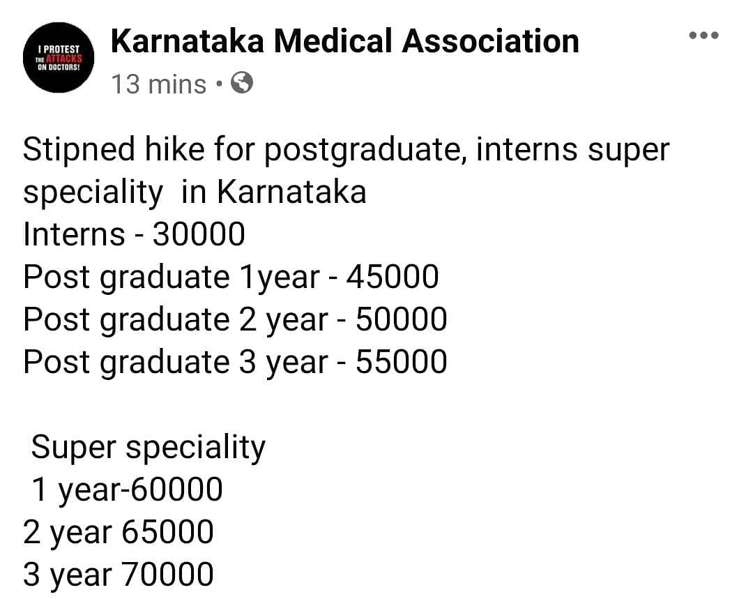 COVID-19: After Outrage, Karnataka Hikes Stipends of Resident Docs