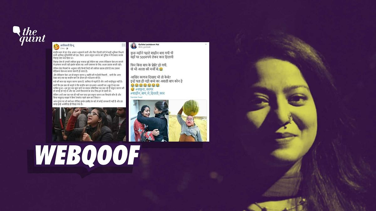 'Unwed & Pregnant': Trolls Target Safoora Zargar With Fake Claims