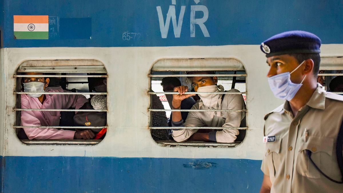 Passengers aboard a Shramik train have had to spend almost three days to reach their respective destinations as trains got diverted. Image used for representational purpose.