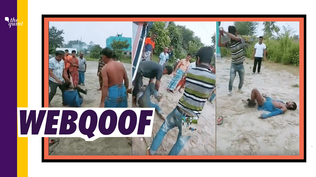 Old Video From B'desh Shared as Rohingya Beating Hindus in Bengal