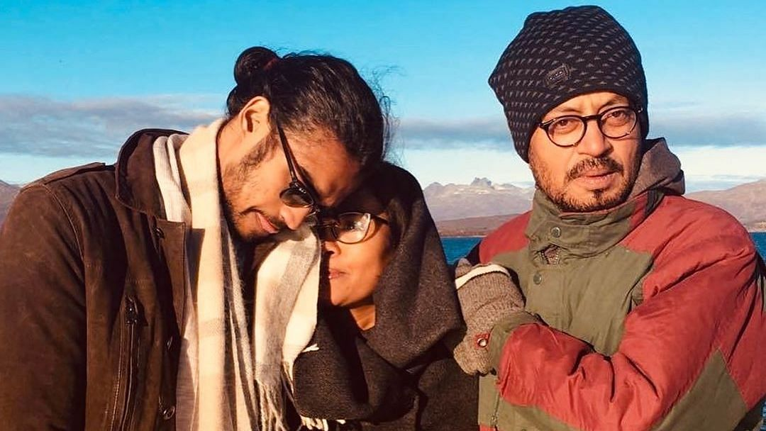 Irrfan Khan's son Babil shared an unseen family photograph on Mother's Day.