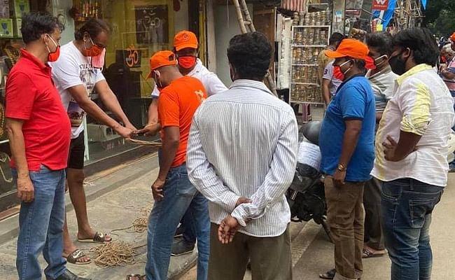 Saffron Flags in Bengaluru Market: 5 Complaints But No FIR Yet