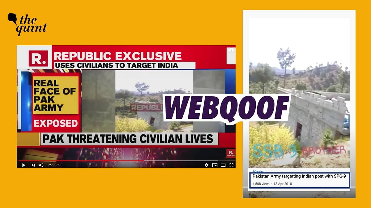 Republic TV Airs Two-Year Old Video as Exclusive 'Pak Army Expose'