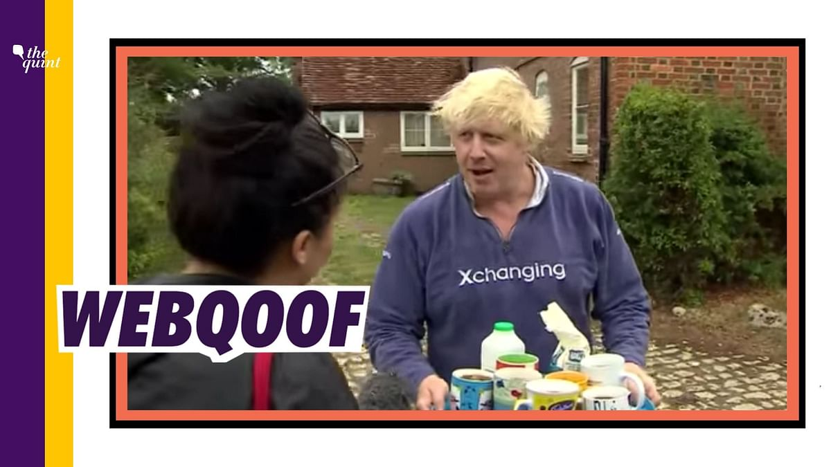 Old Video of Boris Johnson Shared as Footage After COVID Recovery