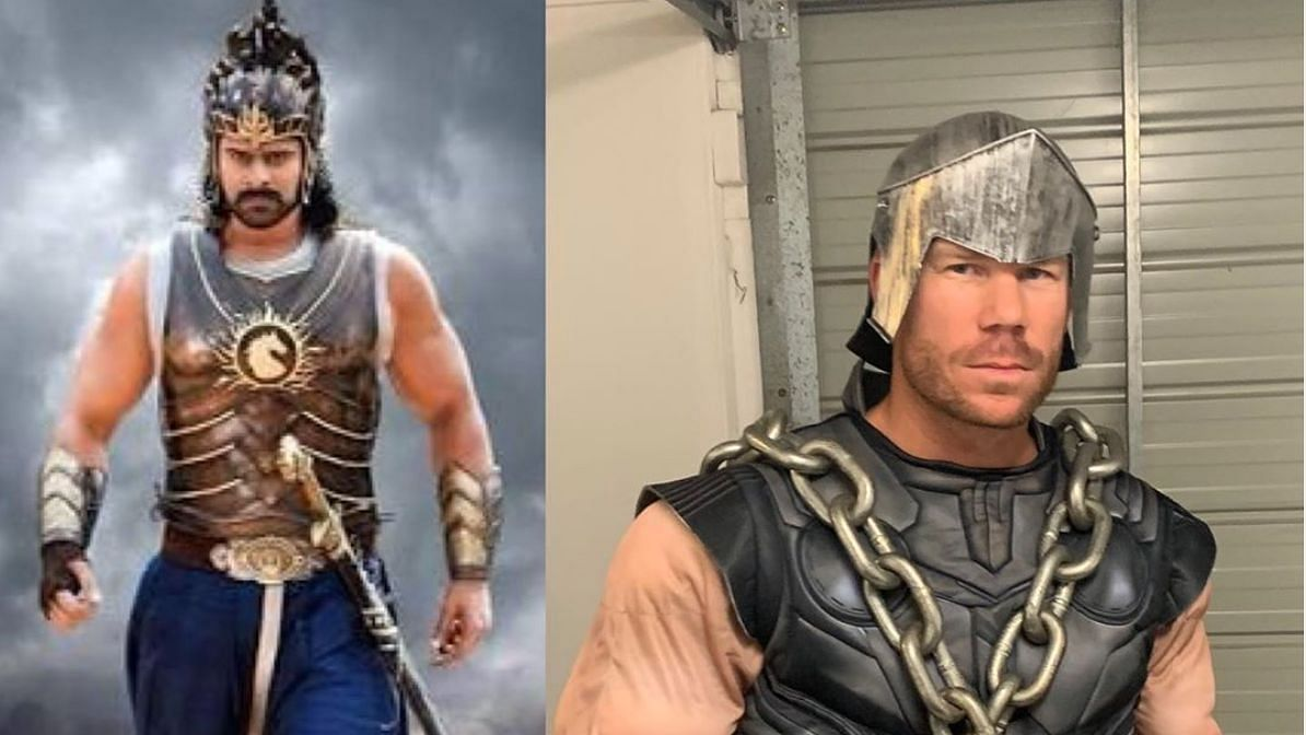 David Warner dressed up like a popular Indian movie character this time to entertain his fans.