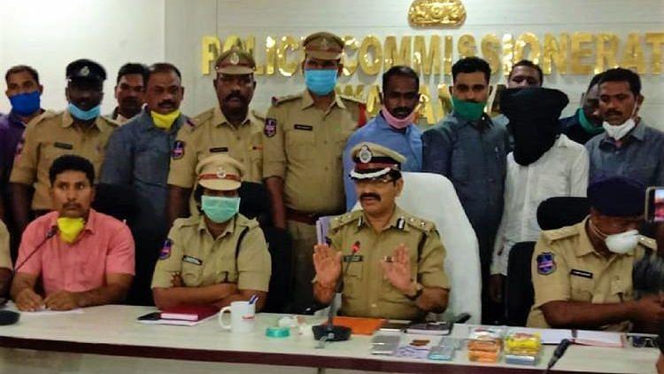 The Telangana police.
