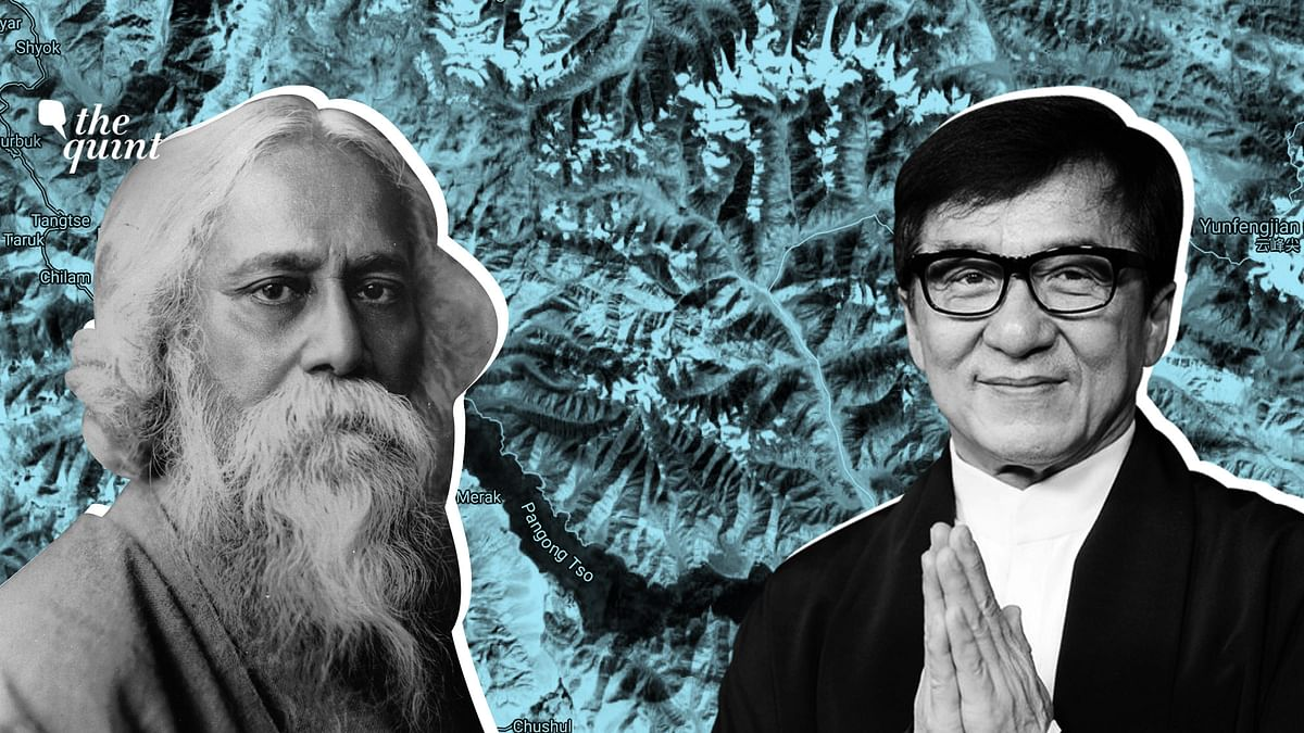 Amid Tensions, China Uses Soft Power With Tagore & Jackie Chan