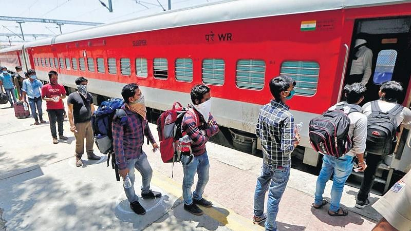 Recovered Only 15% Operational Cost of Shramik Trains: Railways