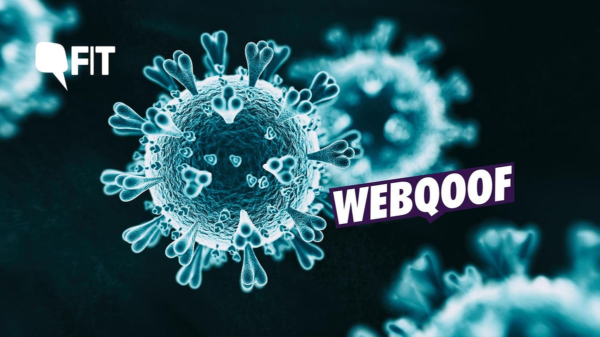 FIT WebQoof: Is There a More 'Virulent Strain' of the Coronavirus?