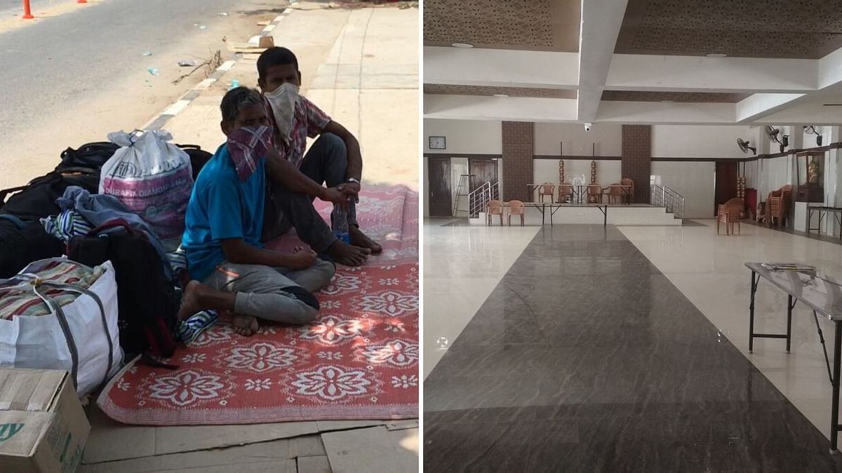 Migrants on Roads as Bengaluru Shelters Lie Empty, Claim Activists