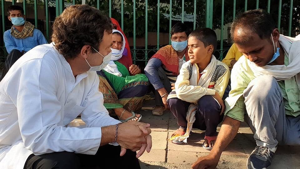 'Dramabaazi': Nirmala on Rahul Meeting Migrant Workers in Delhi