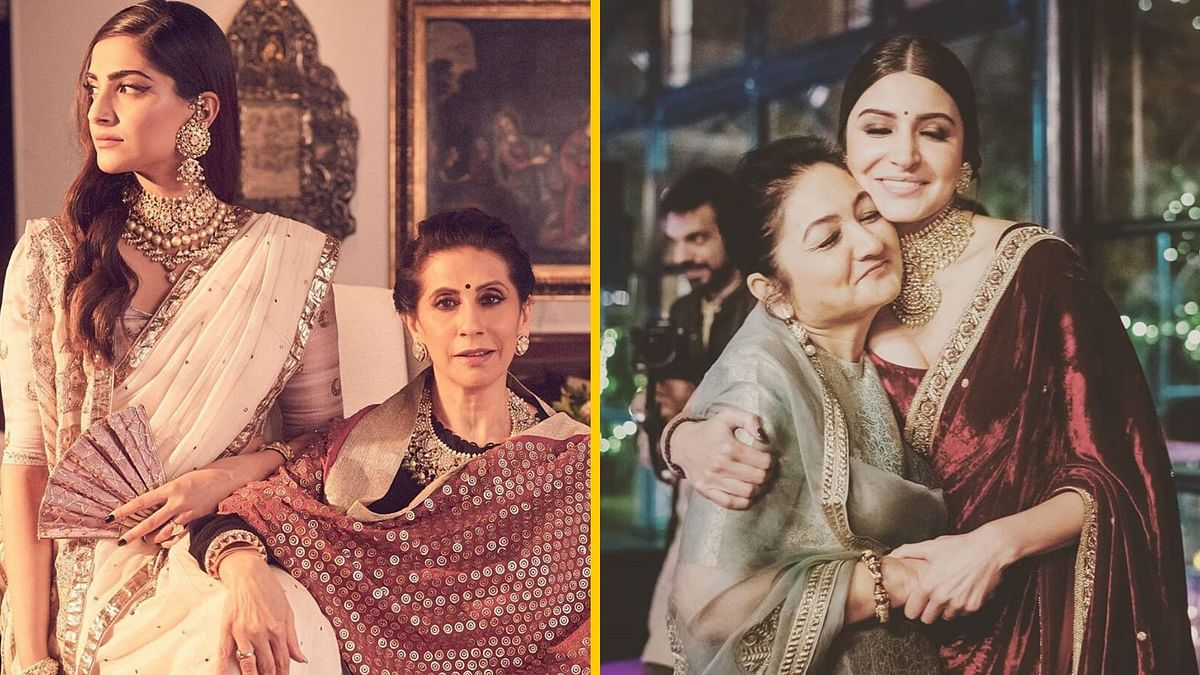 From Sonam to Anushka: B'wood Stars Share Mother's Day Messages