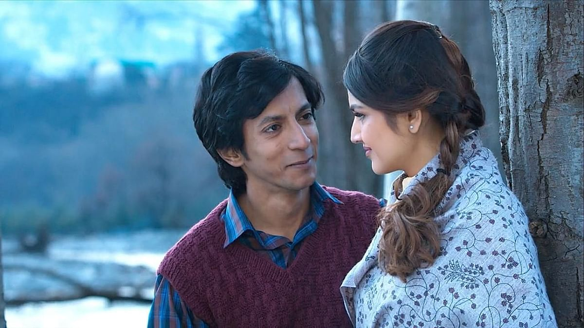 Anshuman Jha plays Mastram in a series of the same name