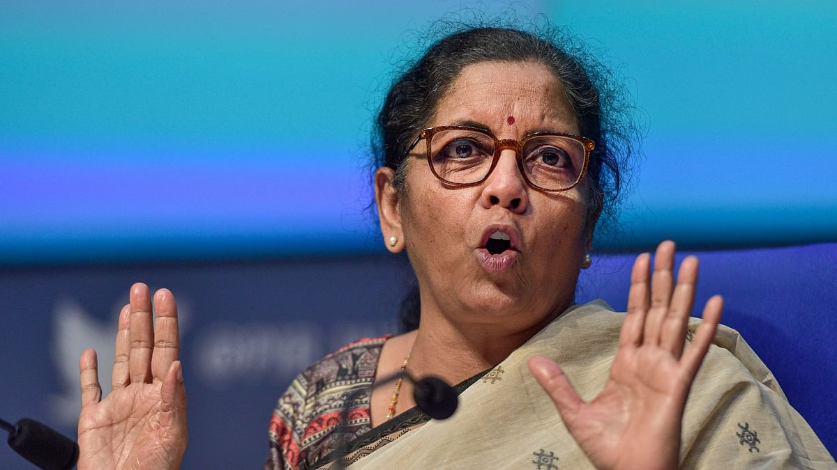 File image of Union Finance Minister Nirmala Sitharaman.