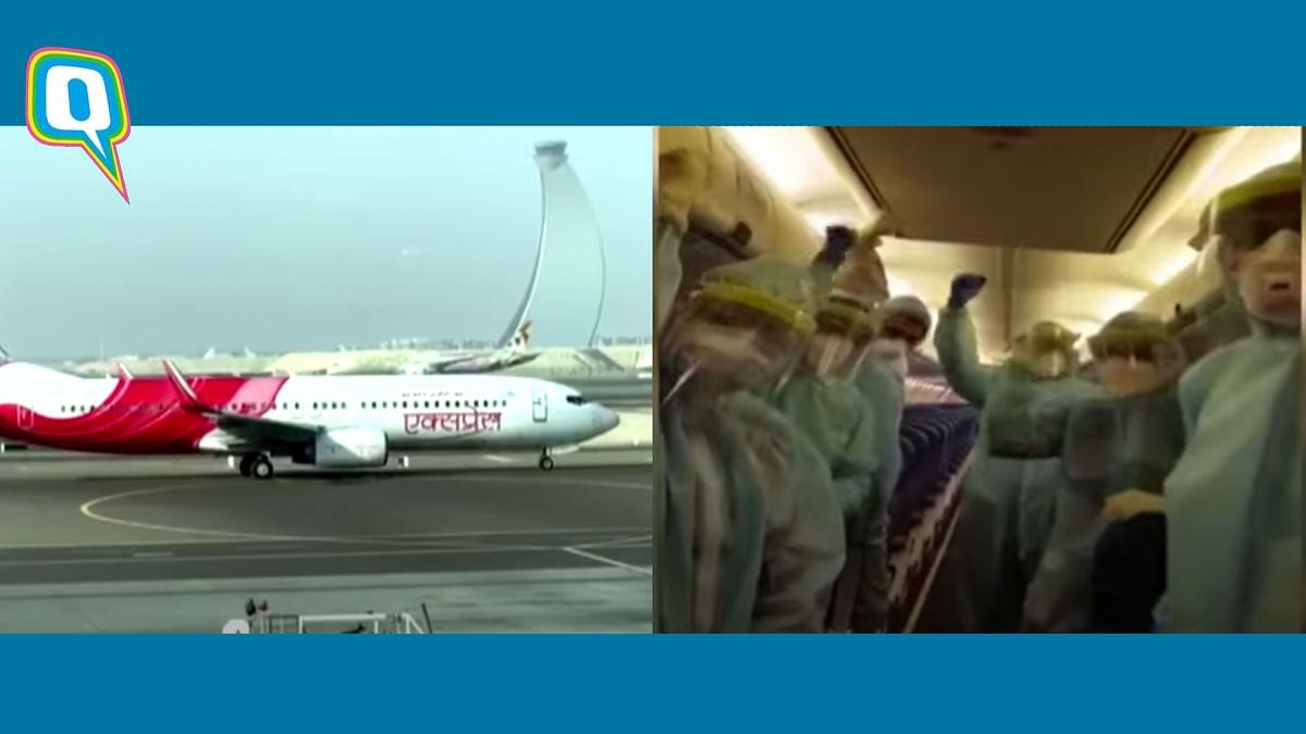 Air India Evacuation Pilot Addresses Passengers on Flight Home
