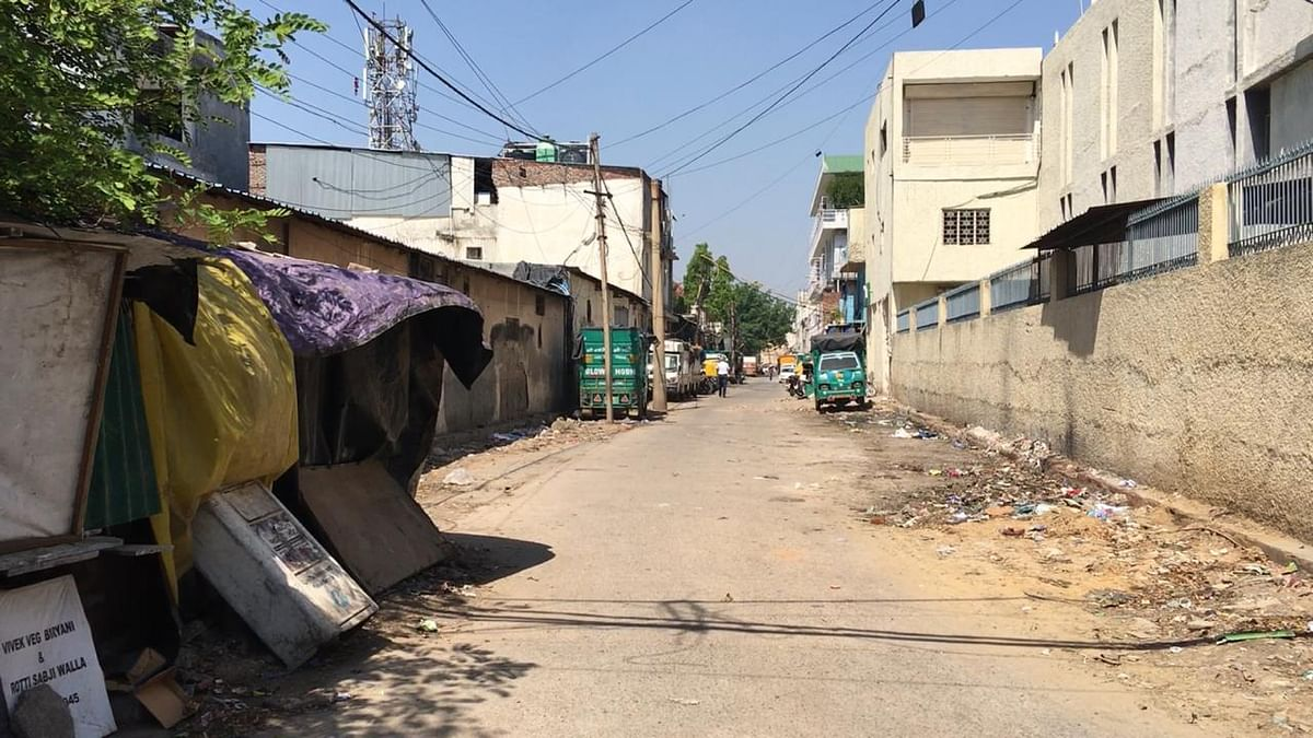 The lanes of Okhla, generally buzzing with activity all the time are not silent.