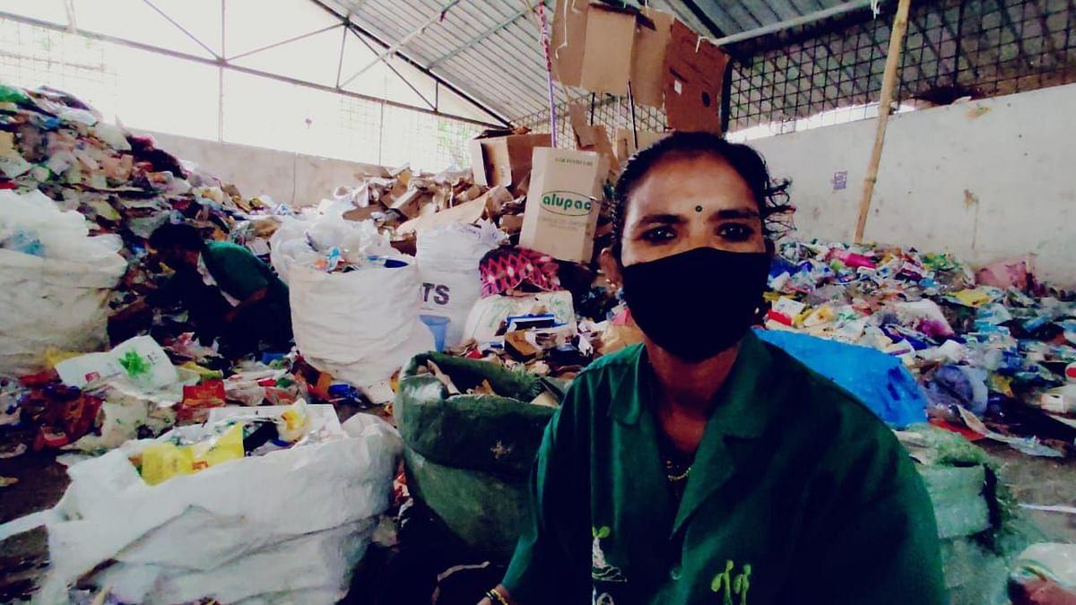 'Think of Us Too': B'luru Sanitation Workers as Used Masks Pile Up