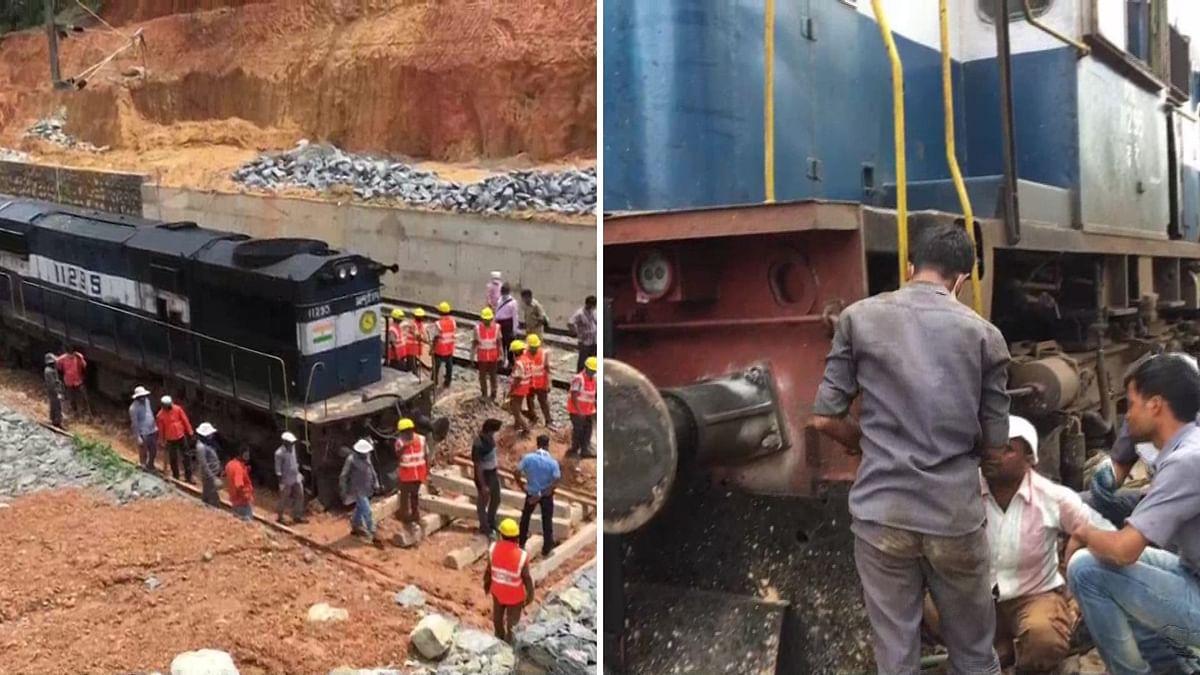 Shramik Train from Kerala to Jaipur Derails in M'luru, No Injuries