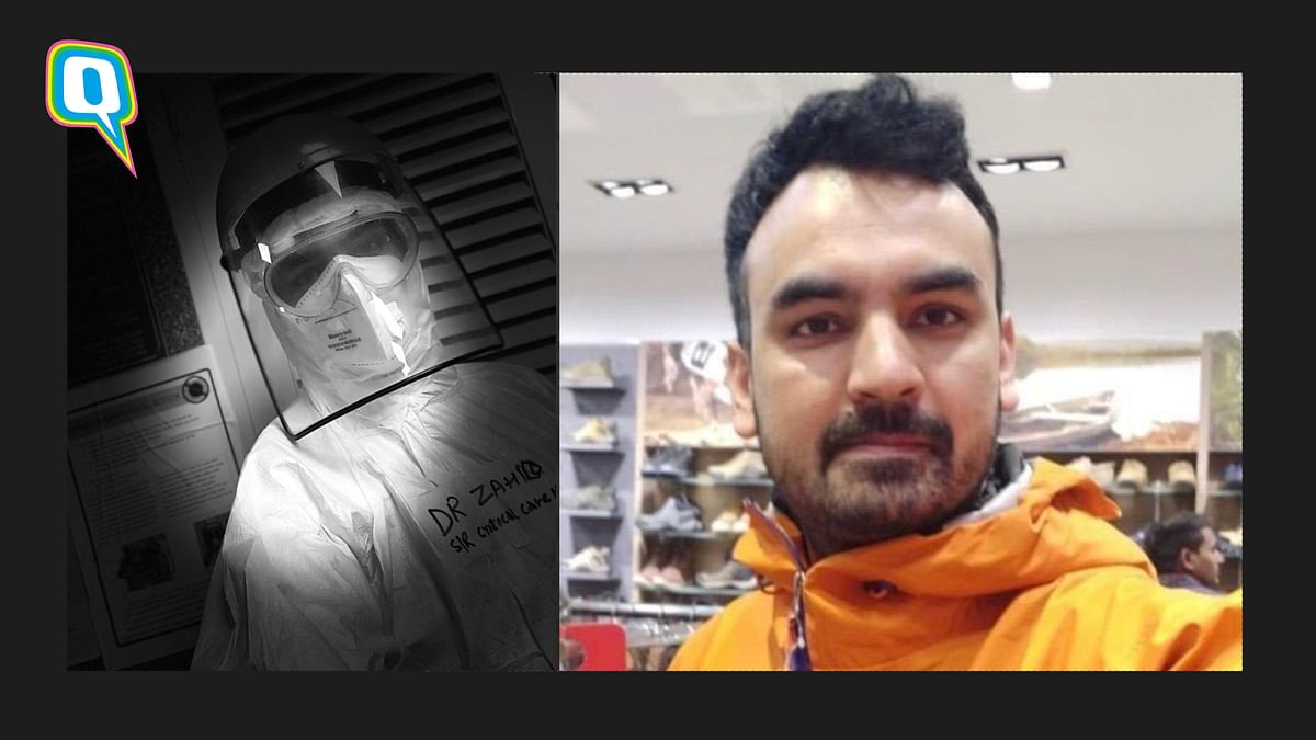 AIIMS Doctor Risks His Own Life, Removes PPE to Save COVID Patient