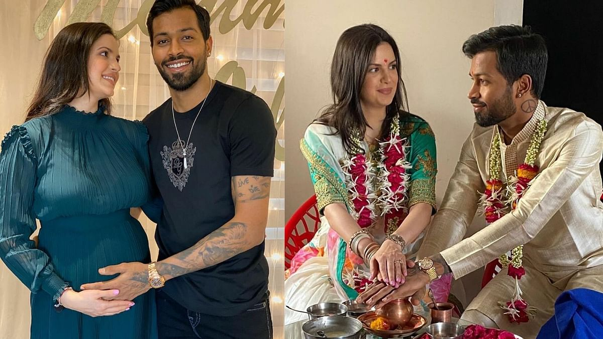 Hardik Pandya and fiance Natasa Stankovic announced last week that they were expecting their first child.