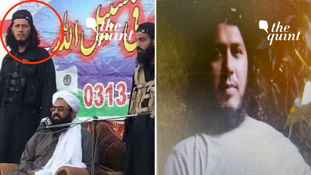 The Quint has exclusive obtained a photograph of Alivi (left of Asghar) with Abdul Rauf Asghar (Centre) at an undated rally of Jaish-e-Mohammad in Pakistan Occupied Kashmir.