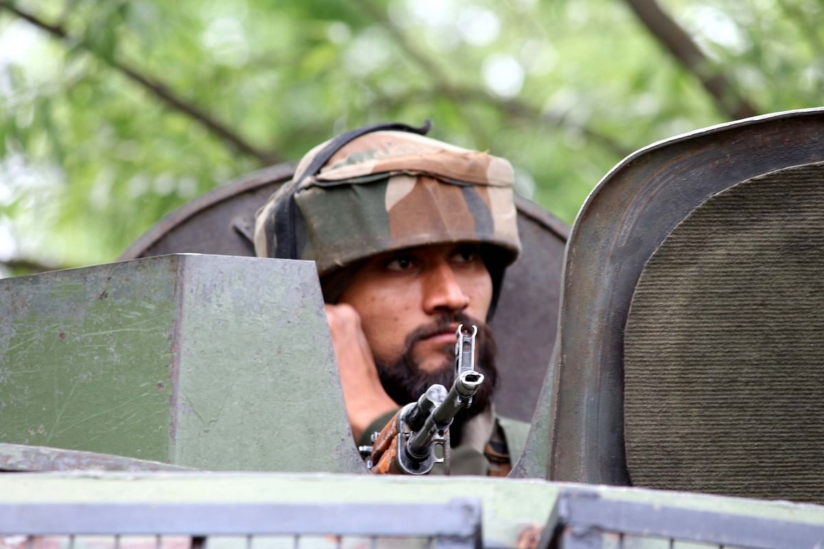 Central Reserve Police Force (CRPF) said the joint troops recovered bodies of four terrorists, among them one has been identified as Hizbul Commander Riyaz Naikoo.