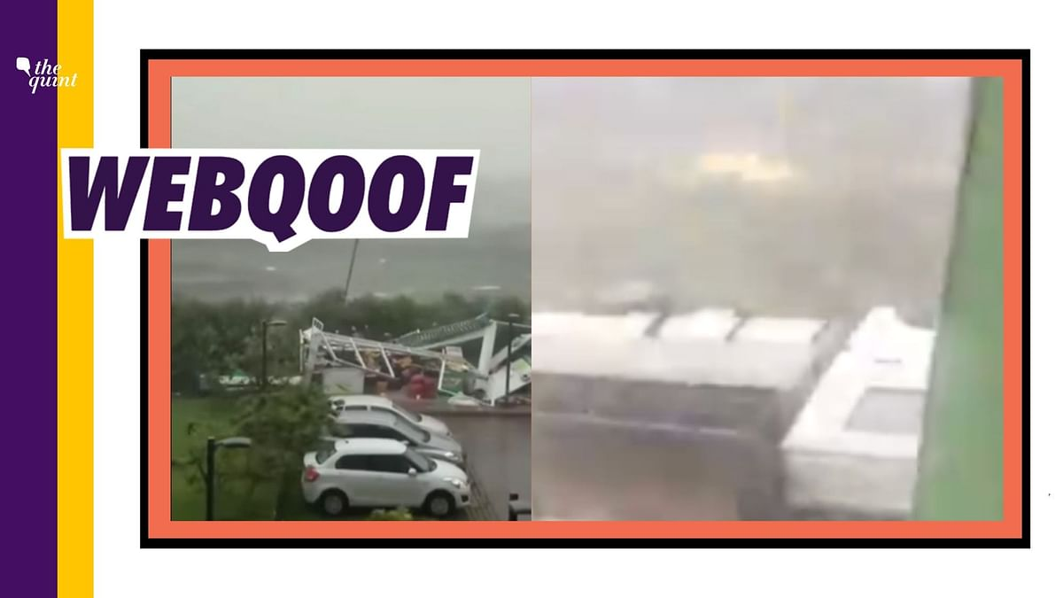 Two Videos of Cyclone Fani Go Viral as Visuals of Cyclone Amphan