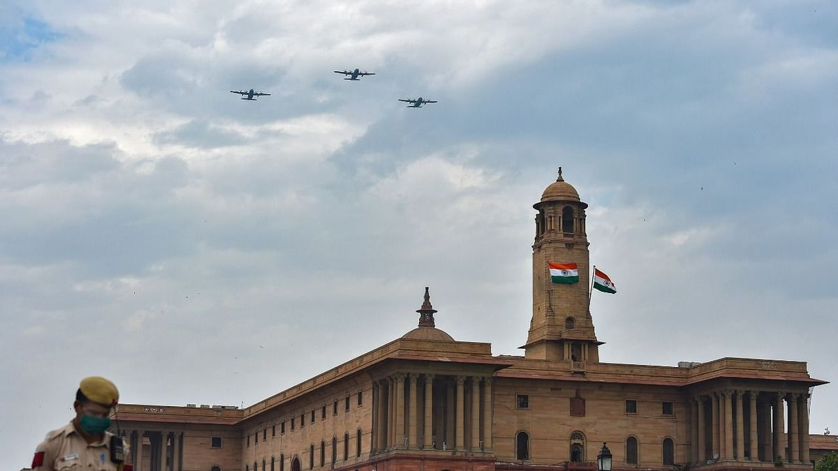 Armed Forces Conduct Flypast, Shower Petals to Thank COVID Workers