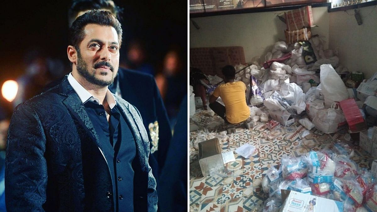 Salman Khan has gifted kits filled with sheer khurma ingredients to the lesser privileged on Eid.