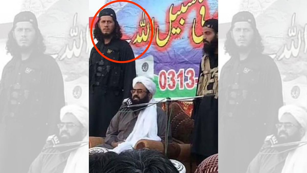 The Quint has exclusively obtained a photograph of Alivi (left of Asghar) with Abdul Rauf Asghar (Centre) at an undated rally of Jaish-e-Mohammad in Pakistan Occupied Kashmir.