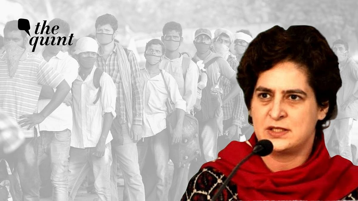 Buses for UP Migrants: FIR Against Priyanka's Secy, UP Cong Chief