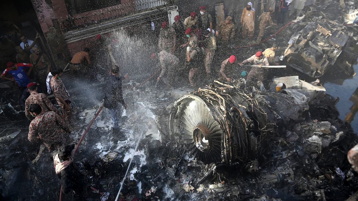 Mayday, We Lost Engine: Pak  Pilot Told Control Room Before Crash