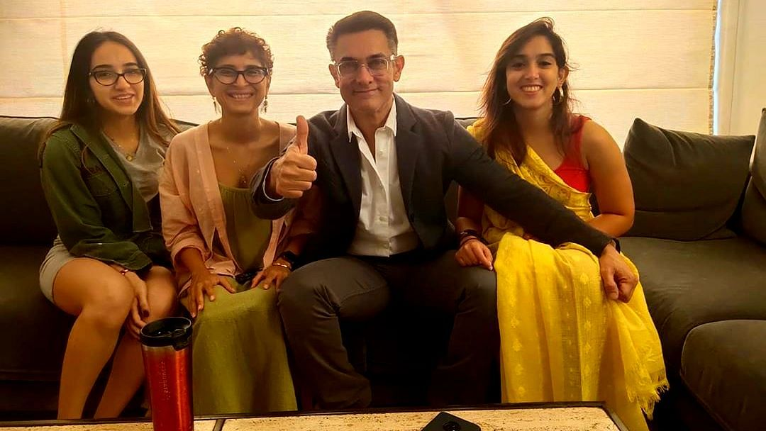 Aamir Suits Up to Support Niece on Her Debut in Mrs Serial Killer